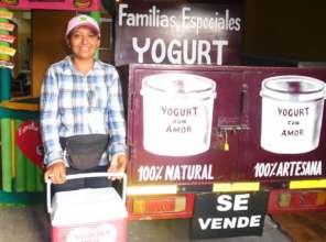 Francis  who sells Yogurt con Amor