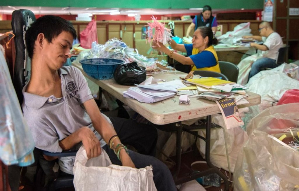 """""""I want to work,"""" plea 40 Nicaraguans w/disability"""