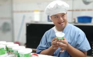 Another area of work is in the yogurt program