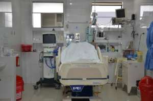 Hospital Bed and Equipment placed in Lima Hospital