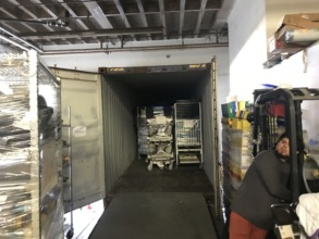 First of Four Containers bound for Peru