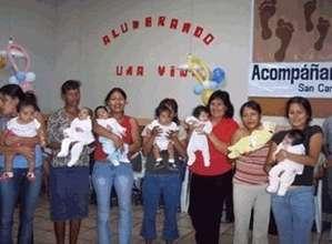 Mothers graduating from program