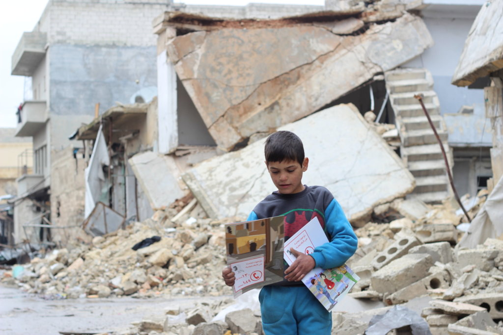 Education For Children Inside Syria