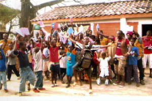 Filmmaking Program for Street Youth in Freetown