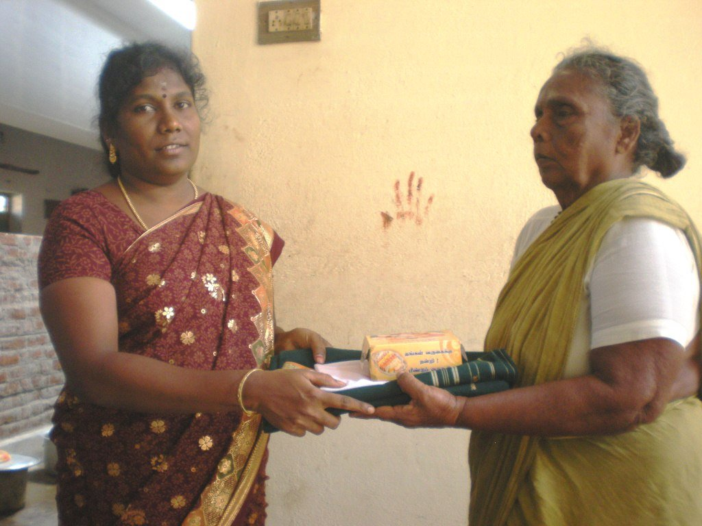 Monthly food expenses for 26 elders in our home