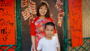 Lunar New Year is a time for families.