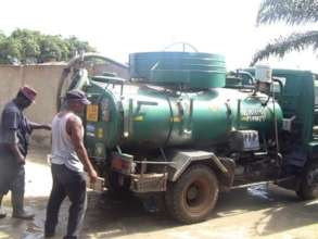 December -- Water truck needed for making concrete