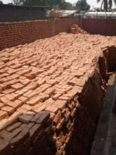 Bricks for the second story walls.