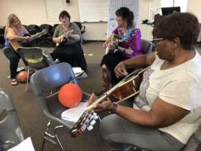 Educators Learn Songs of Hope & Help!