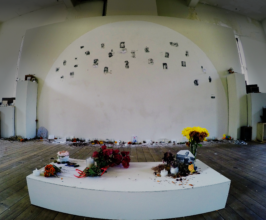 Remembrance Wall in Project Space