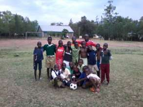 Junior Football Club at Okore