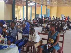Secondary school debate in Sierra Leone