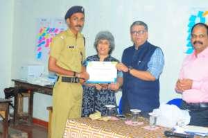 "Participants Received ""Elephant Ambassador"" Award"