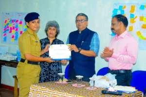 Receiving Elephant Ambassador Certificate Award