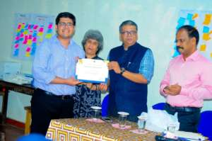VFAES Youth Ambassador Traveled from New Delhi