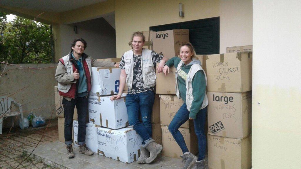 Volunteers for Greece