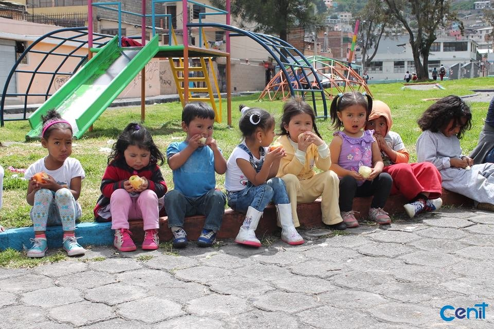 From street to school desk for 200 kids in Ecuador