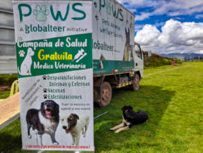 The PAWS van ready for action