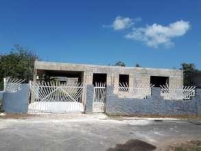 Rosa's house, still under construction