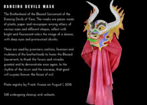 Dancing Devils Mask