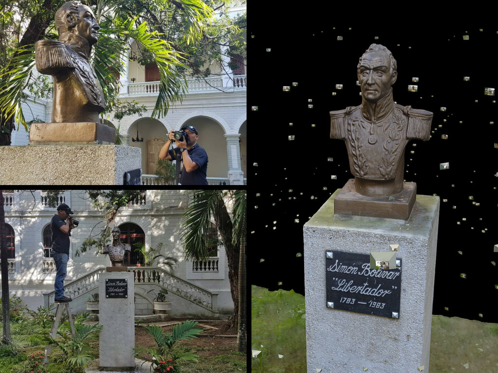 Digitally Preserve 4 Historic Sites in Venezuela