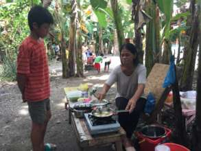 Food selling as one of the livelihoods