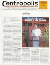Centropolis newspaper article