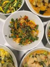 Healthy food creations with local ingredients