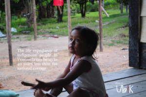 Becky. Indigenous community of Aripichi.