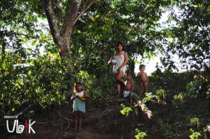 Pemon family near Aripichi comunity