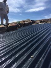 zinc sheet after waterproofing treatment