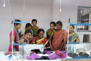Women artisans on the Production Line