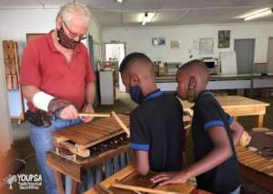 A tour of the African Musical Instruments factory