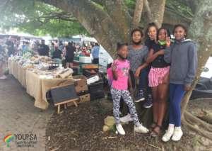At an arts & crafts market