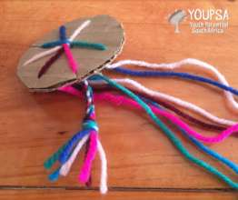 producing colorful arm braces and necklaces