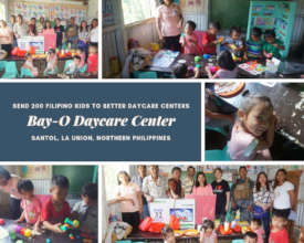 Bay-O: Provided Daycare Materials and Equipment