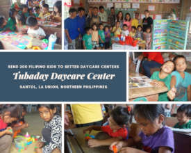 Tubaday: Photos of Daycare Materials Distribution