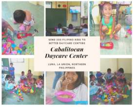 Three Months Later: Cabalitocan Daycare Center