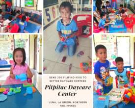 Three Months Later: Pitpitac Daycare Center