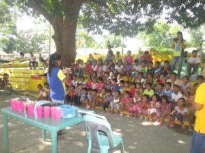A Health & Hygiene Seminar in Cabalitocan Daycare