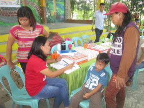 Vitamins distributed to daycare students