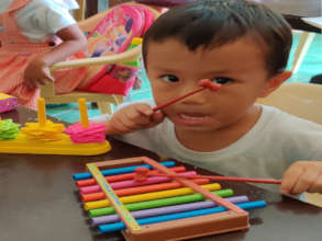 Romel & His New Xylophone: Cabalitocan Daycare