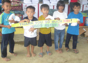 Basig, La Union Daycare Students Say Thank You
