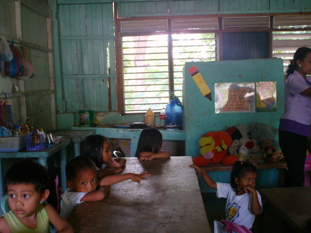 Send 200 Filipino kids to better daycare centers