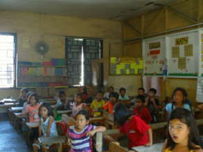Typical Daycare Classroom in Poor Communities