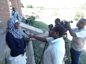Chanco TV interviews Headteacher