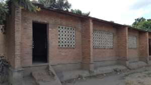Chilimba School classroom outside view