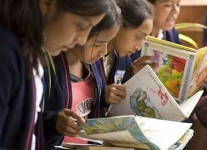 Girls Reading After School