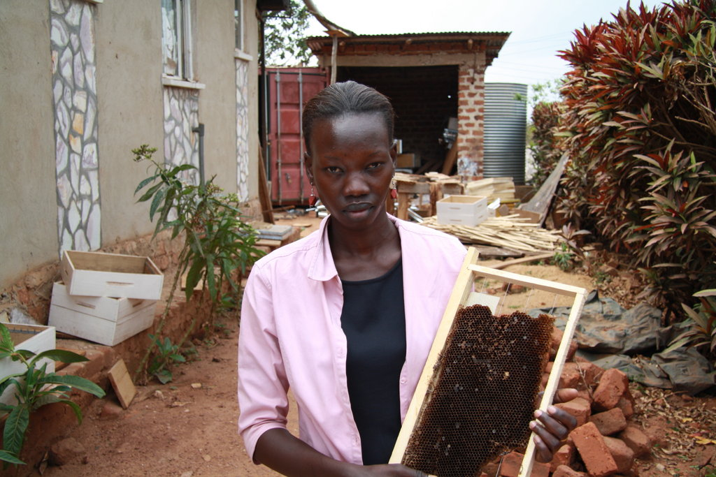 Combat Malnutrition with Beekeeping in South Sudan