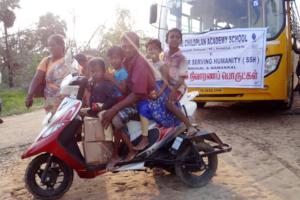 Gaja relief service by SSH